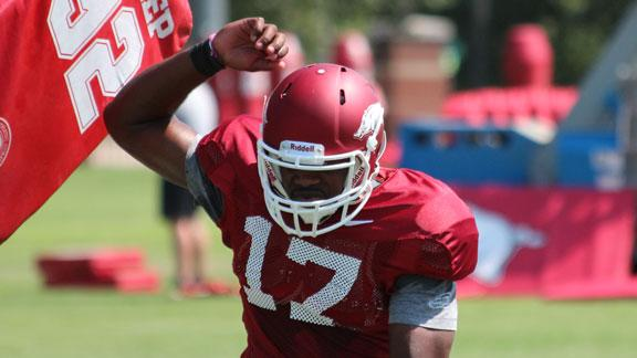 2012 Razorback Football: Hogs on Day 9