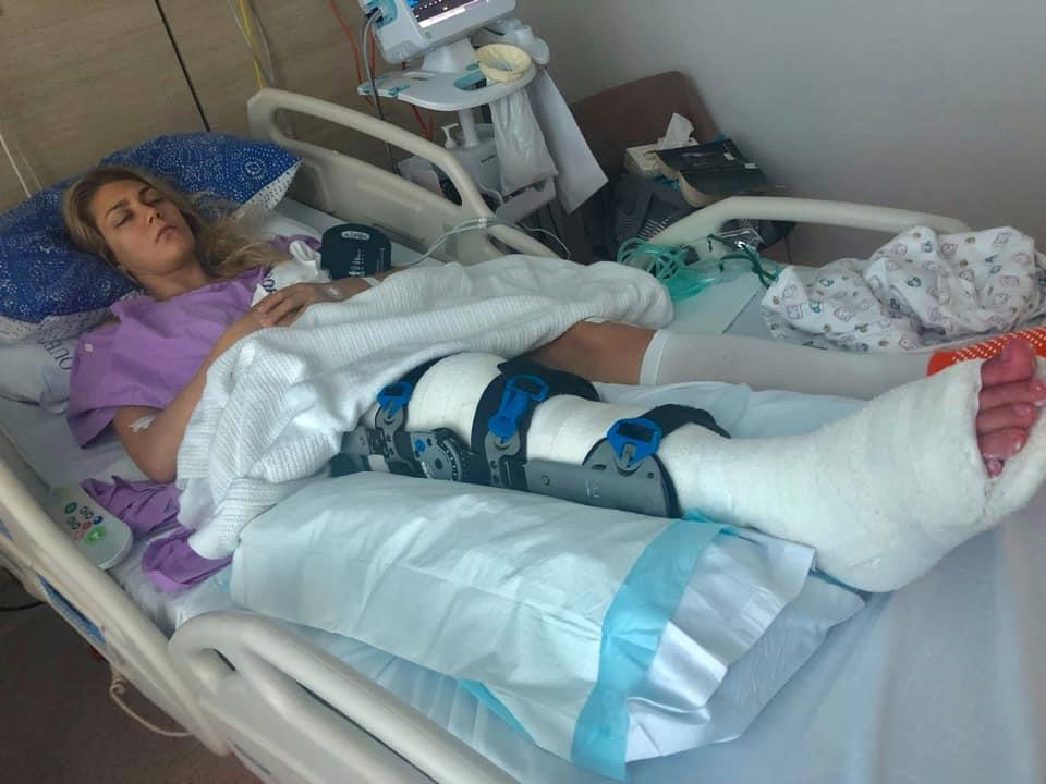 'I need help with the most basic things': Backpacker's plea after horrific accident