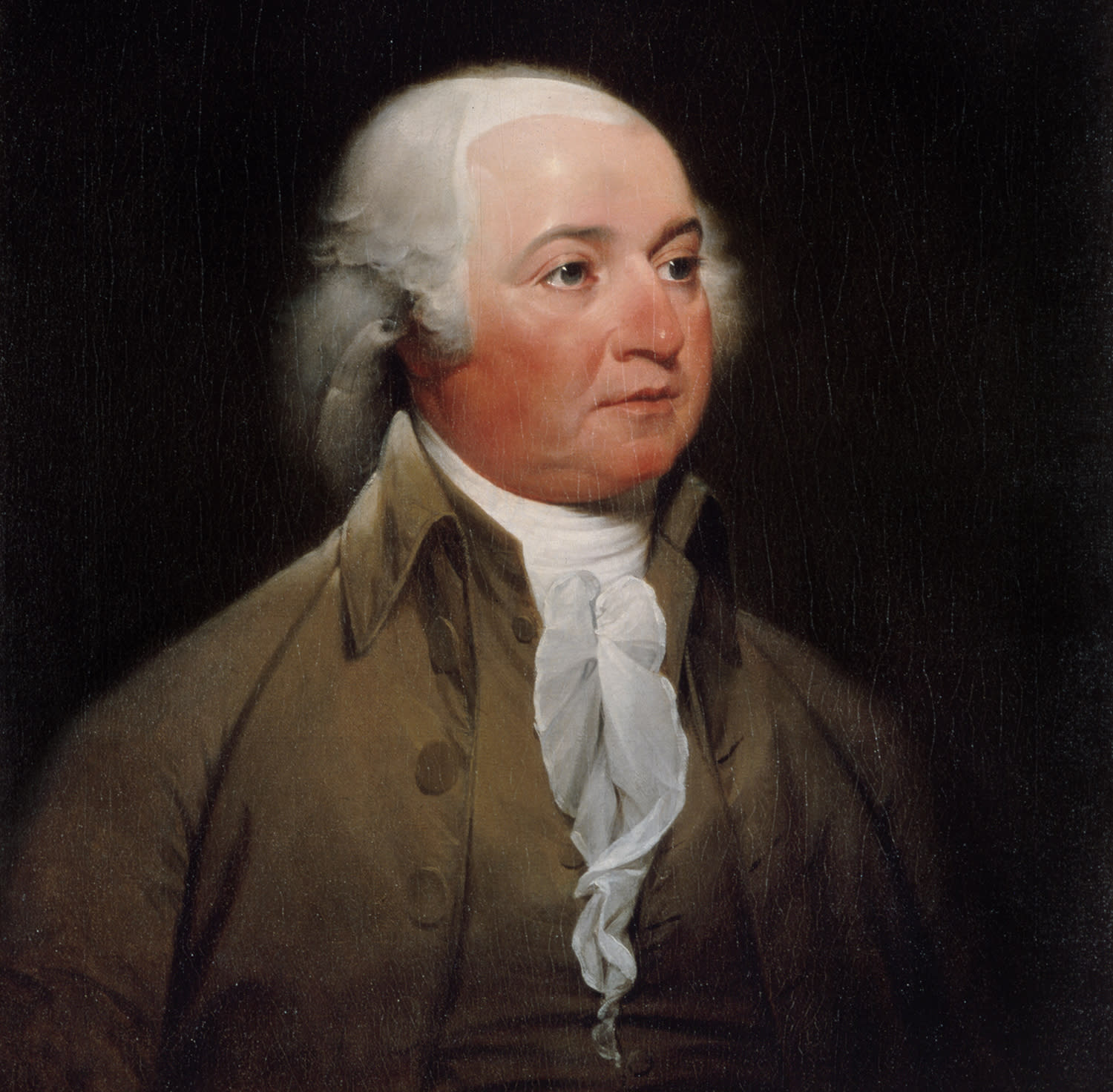 <p>John Adams, second president of the United States, 1797-1801. Official presidential portrait by John Trumbull, circa 1792. (White House Historical Association/White House Collection) </p>
