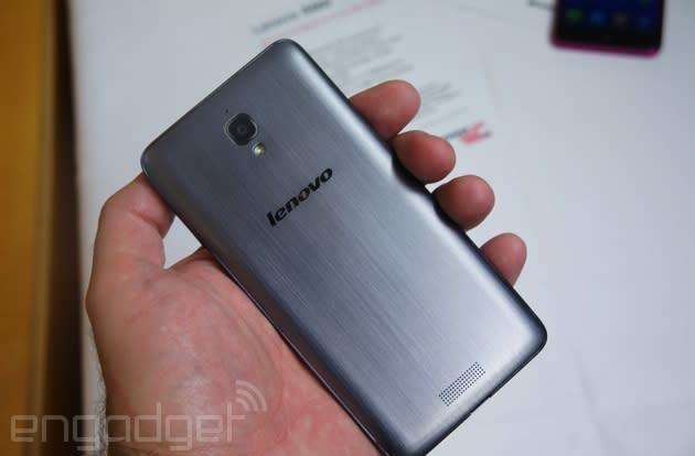 Lenovo outs three budget phones, we go hands-on (video)