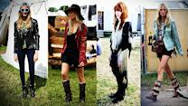 Sienna Miller, Cara Delevingne, and More Brit It Girls Inspire at Glastonbury
