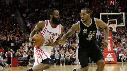 BDL's 2016-17 NBA Playoff Previews: San Antonio Spurs vs. Houston Rockets