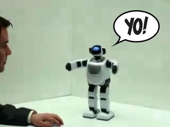 PALRO robot masters English, will never shut up again (video)