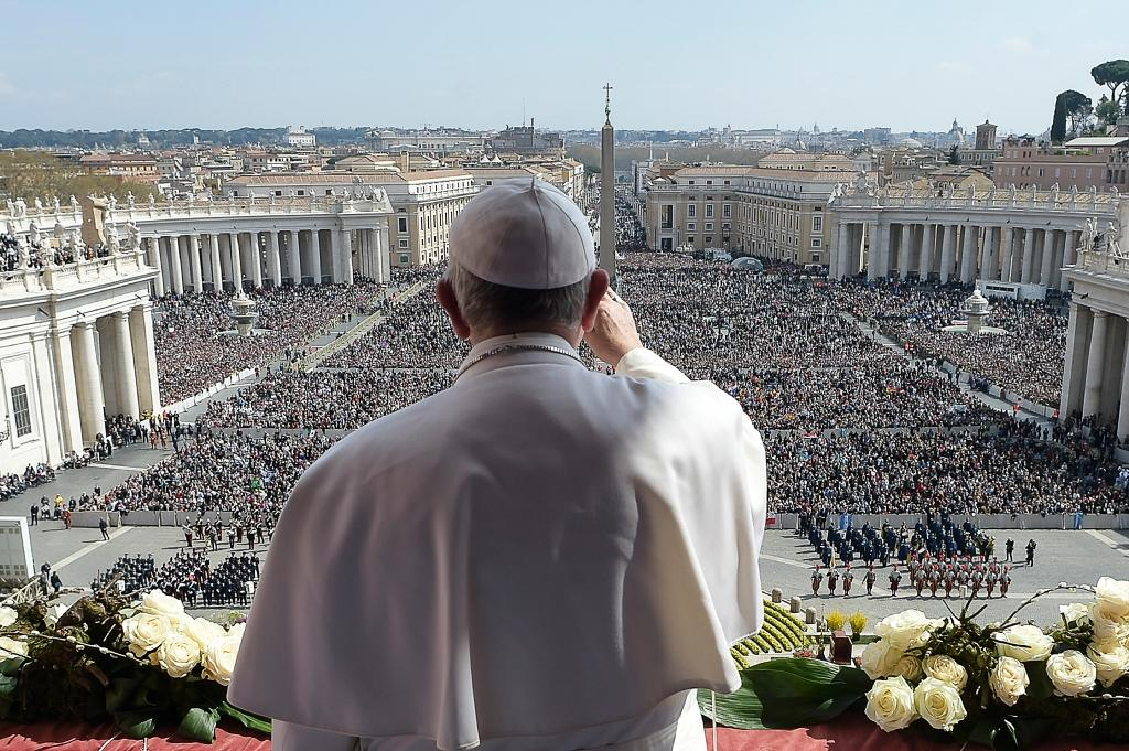 Pope Francis has issued new guidelines on love, sex and marriage to the world's 1.2 billion Roman Catholics (AFP Photo/)
