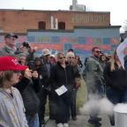 Protesters Burn Masks at Demonstration Against Idaho COVID Restrictions