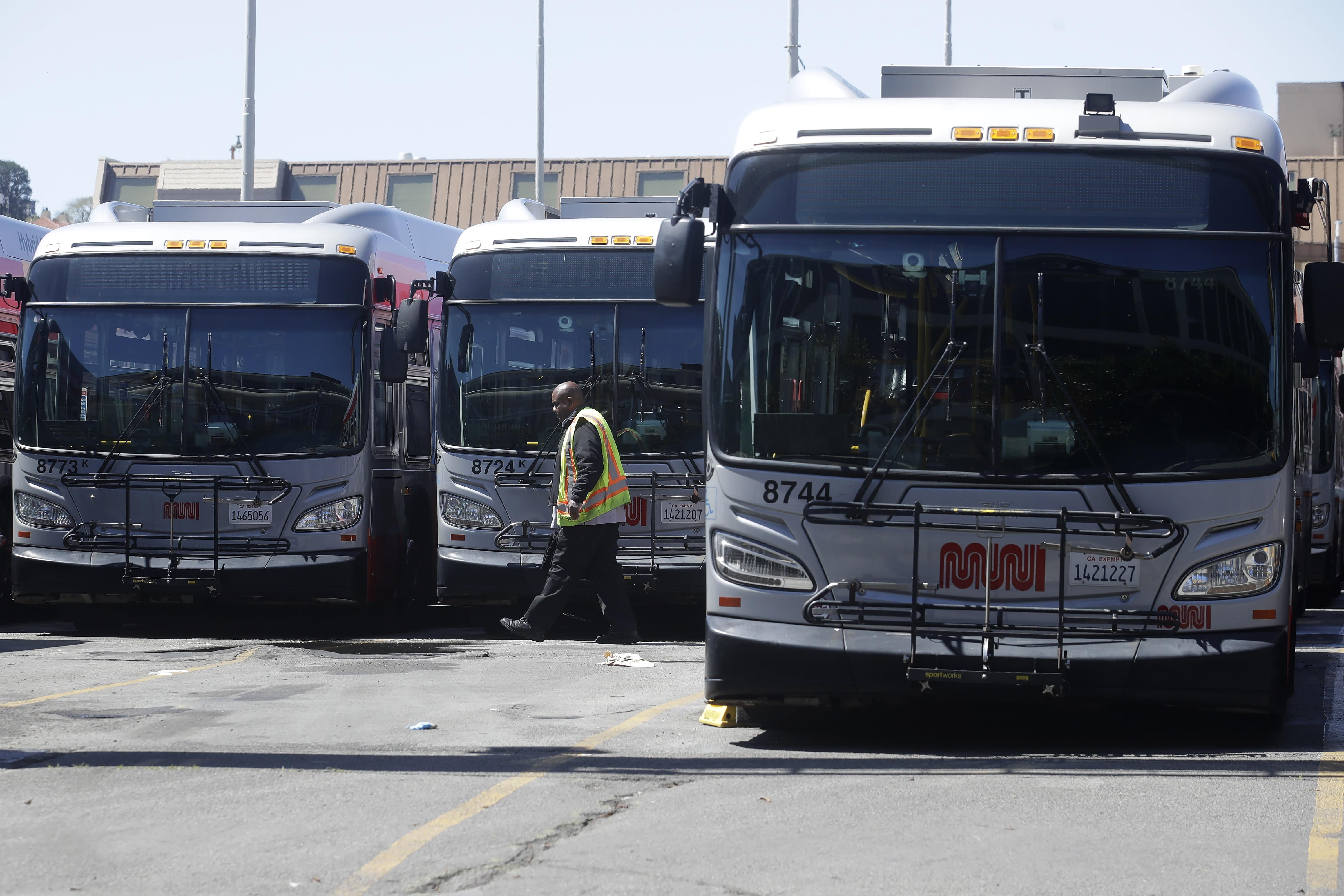 Bus Driver Assaulted Masks