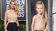 Alya Chaglar recrea con su hija Stefani varios looks de los Globos de Oro