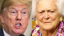 Twitter Users Shred Donald Trump Over Barbara Bush Tribute Typo