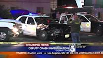 Deputy-Involved Car Crash Reported in Compton