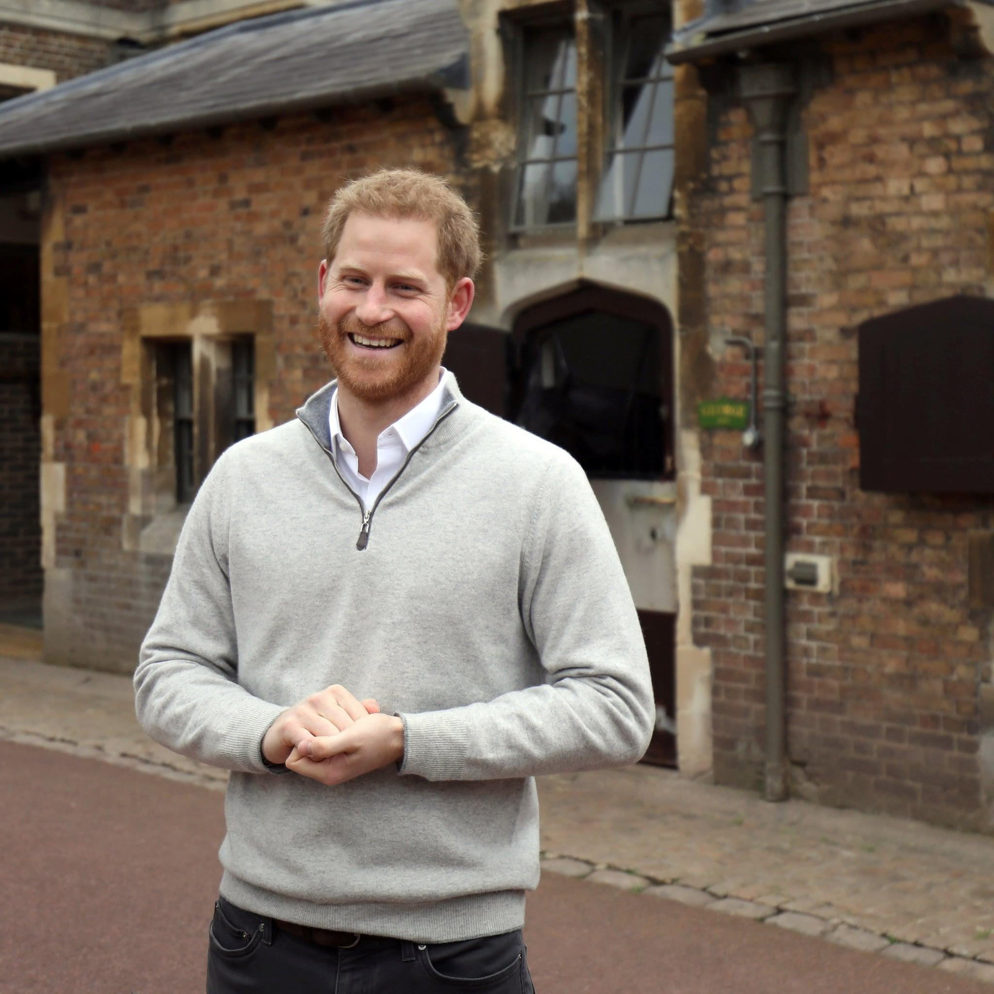 """Prince Harry On Watching His Son Being Born: """"How Any"""