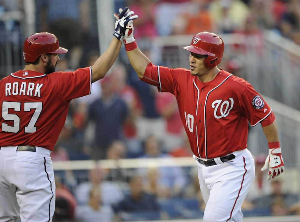 Nationals C Ramos reinstated from paternity list