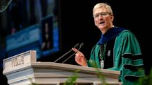Tim Cook and Steve Jobs agree: 'Time is limited, so don't waste it' on this