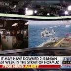 US officials say USS Boxer may have downed 2 Iranian drones last week in the Strait of Hormuz