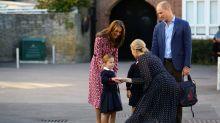 15 fotos adorables de los 'royals' en su primer día de colegio