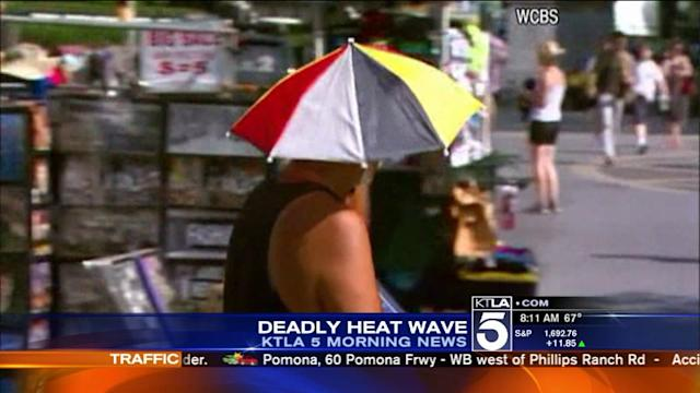 Triple-Digit Heat on Tap for Parts of Southland
