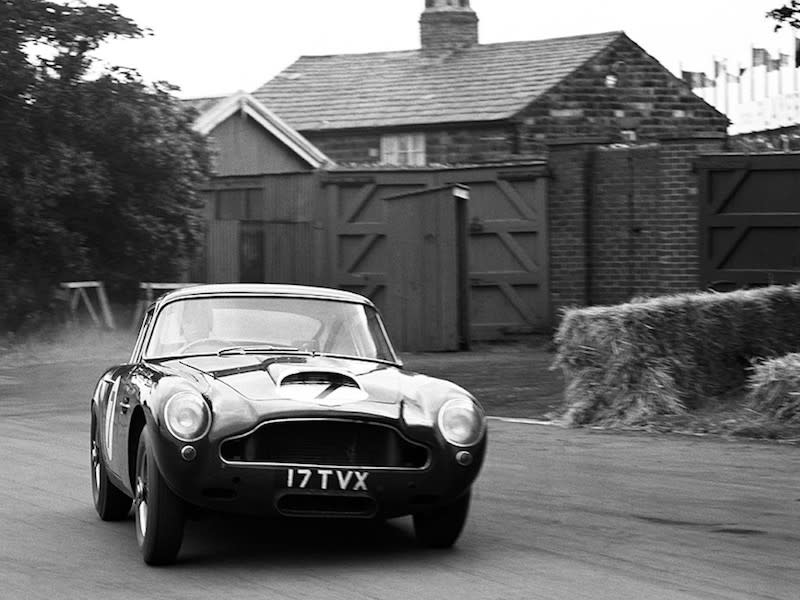 Aston Martin To Build Vintage DB GT Continuation Cars - Aston martin vintage