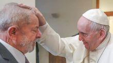 """El Papa a Lula: """"Estoy contento de poder verlo caminando por la calle"""""""