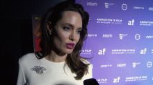 Angelina Jolie discusses the 'vulnerability' of girls at The Breadwinner premiere in L.A.