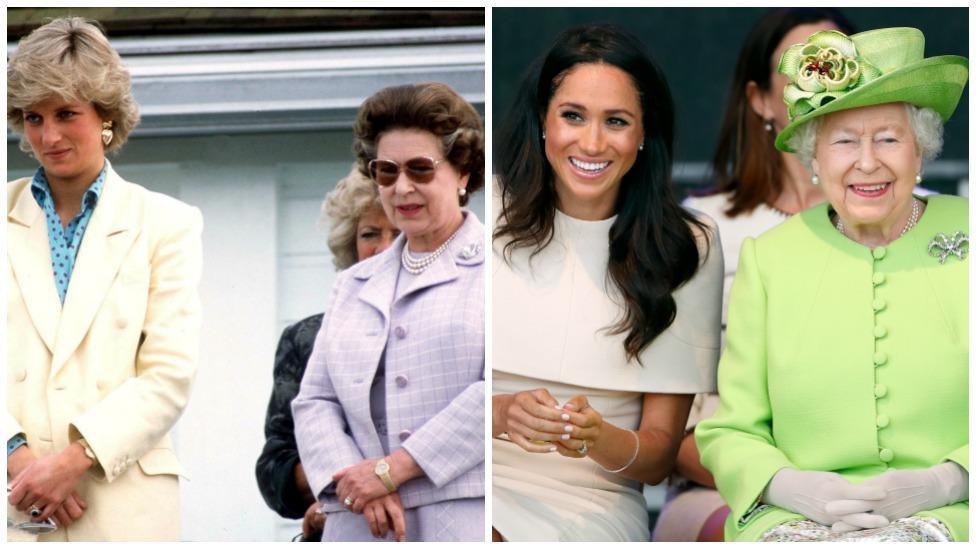 The Queen doesn't want Meghan to 'feel like Diana'