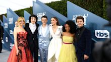 Look How Grown Up The 'Stranger Things' Kids Look On The SAG Awards Red Carpet