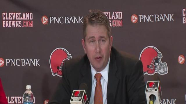 Cleveland Browns reaction to Mingo