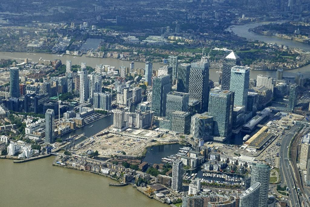 Moving abroad from its current headquarters in London's Canary Wharf could see the European Medicines Agency losing up to 94% of its staff, the agency has warned (AFP Photo/Niklas HALLEN)