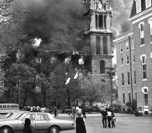 Construction fire also destroyed Fall River's Notre Dame