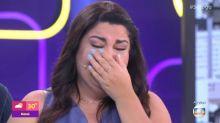 """Abalada, Fabiana Karla """"falta"""" em programa ao vivo"""