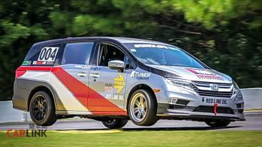 「超大版」賽車機器!Honda Odyssey罕見「競技專用」式樣