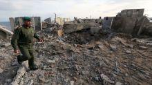 Palestinian rocket attack on Israeli city draws Gaza air strikes
