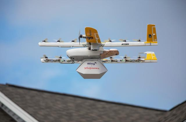 Alphabet's Wing starts drone deliveries to US homes