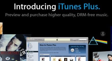 iTunes Plus DRM-free music now official(er)