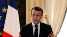 """Européennes 2019: Macron propose de """"remettre à plat l'espace Schengen"""""""