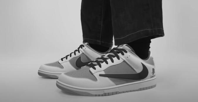 Travis Scott x PlayStation Nike Dunk Low