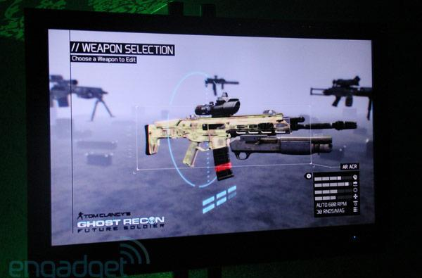 Kinect integration in Ghost Recon: Future Soldier, hands-off (video)