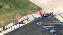 Police AR-15 rifle goes off at Chino school event; 3 students injured