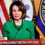 Nancy Pelosi Grabs Cable Spotlight As Latest Democratic Debate Set To Start; Talks Impeachment Vote