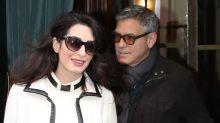 Los mellizos de Clooney, ¡ya tienen guardaespaldas!