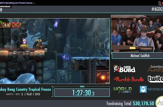 Watch these awesome games played very well, very quickly, for charity