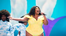 Plus-size singer Lizzo wants people to stop calling her 'brave' for posing nude