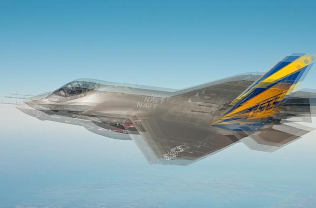 F-35 pilots are seeing double, but it's the plane that's drunk