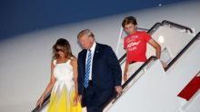 First lady thanks Chelsea Clinton for defending Barron Trump