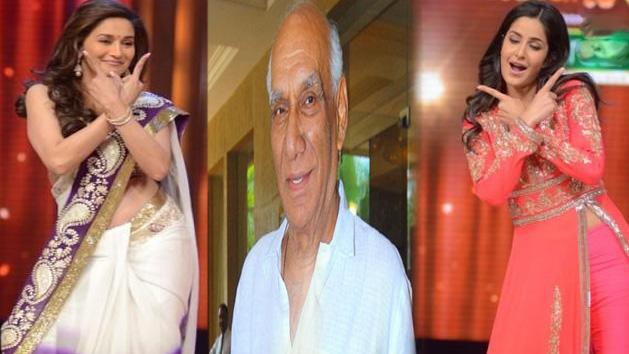 Katrina and Madhuri To Pay Yash Chopra A Special Tribute