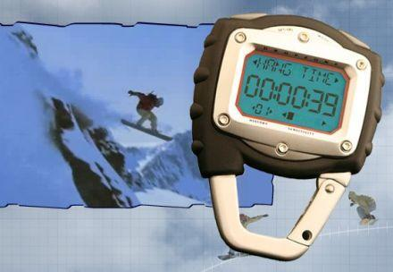 HangTimer stopwatch gives you bragging rights in the traction ward