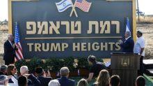 Premier de Israel inaugura colônia que homenageia Trump