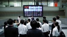 Asia shares numbed by trade noise, oil takes a spill