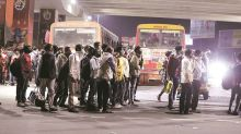 Delhi: 44 bus drivers booked for ferrying migrants