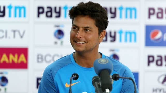 Kuldeep Yadav is having a brilliant time with the ball