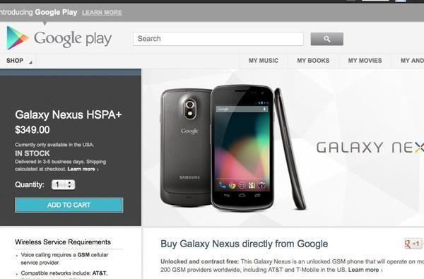 Google cuts the price of the Galaxy Nexus HSPA+ to $349, adds Jelly Bean
