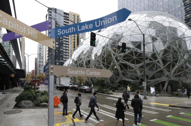 Amazon confirms first coronavirus diagnosis among US employees